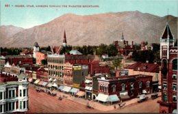 Utah Ogden Looking Toward The Wasatch Mountains - Ogden