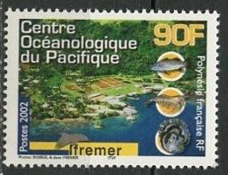 Polynésie Française - Polynesien - Polynesia 2002 Y&T N°675 - Michel N°876 *** - 90f Centre Océanographique - Polynésie Française
