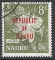 Nauru. 1968 Republic O/P. 8c Used. SG 86 - Nauru