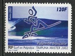 Polynésie Française - Polynesien - Polynesia 2002 Y&T N°676 - Michel N°877 *** - 120f Surf - Polynésie Française