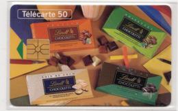 FRANCE EN1034 LINDT Chocoletti 2 Chocolat 50U Date 5/94 Tirage 1579 Ex - Lebensmittel