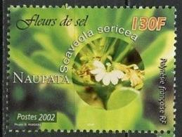 Polynésie Française - Polynesien - Polynesia 2002 Y&T N°678 - Michel N°879 *** - 130f Fleurs De Sel - Polynésie Française
