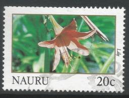 Nauru. 1991 Flowers. 20c Used. SG 392 - Nauru
