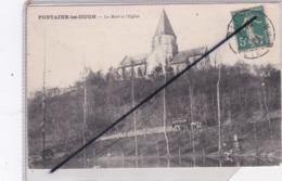 Fontaine Les Dijon (21) La Mare Et L'Eglise (lavandières,voiture Tractée Par Un Cheval A.PICOCHE) - Unclassified