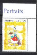 Maldive - 1990. Ciccio. Gus Goose. MNH - Disney
