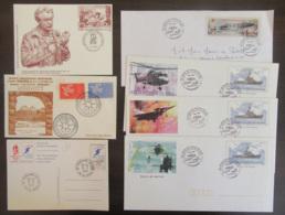 France - Lot D'enveloppes 1er Jour, Commémoratives (Un Siècle De Marins Du Ciel), Etc... - FDC