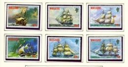 BELIZE  -  1981 Ships Set Unmounted/Never Hinged Mint - Belize (1973-...)