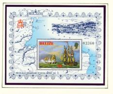 BELIZE  -  1981 Ships Miniature Sheet Unmounted/Never Hinged Mint - Belize (1973-...)