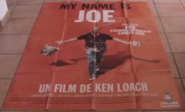 AFFICHE CINEMA ORIGINALE FILM MY NAME IS JOE Ken LOACH Peter MULLAN 1998 TBE - Posters