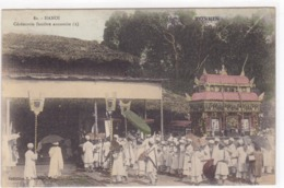 Asie - Hanoï - Cérémonie Funèbres Annamite (2) - Viêt-Nam