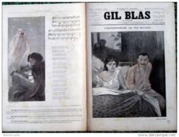 *GIL BLAS Illustré*N°12-13/09/1891< L'EMPOISONNEUSE P/Paul BONNETAIN +CHANSON: DESSIN  De STEINLEN - Books, Magazines, Comics