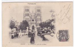 Asie - Tonkin - Hanoï - La Cathédrale, Sortie De La Messe - Viêt-Nam