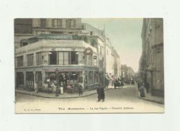 75 - PARIS - MONTMARTRE  - La Rue Pigalle Nouvelle Athenes Animé Colorisé Bon état - Arrondissement: 18
