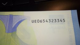 20 € France U027E5/UE Ch.65 UNC - EURO