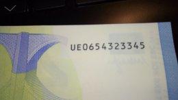 20 € France U027E5/UE Ch.65 UNC - 20 Euro