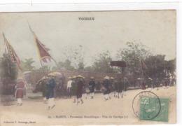 Asie - Tonkin - Hanoï - Procession Bouddhique - Tête Du Cortège (1) - Viêt-Nam