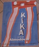 AFFICHE ORIGINALE CINEMA FILM KIKA ALMODOVAR FORQUE ABRIL DE PALMA COYOTE 1994 TBE DESSIN BIELIKOFF - Posters