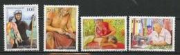 Polynésie Française - Polynesien - Polynesia 2015 Y&T N°1079 à 1082 - Michel N°(?) *** - Métiers - Polynésie Française