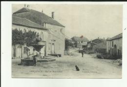 2 - Haute Marne - Serqueux -Rue De Bourbonne - Fontaine - Animée - - Autres Communes