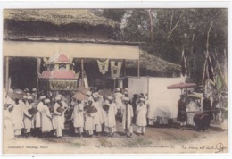 Asie - Tonkin - Hanoï - Cérémonie Funèbre Annamite (4) - Viêt-Nam