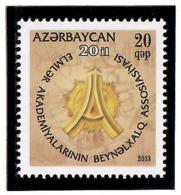 Azerbaijan 2013 . Academies. IAAS-20y.   1v: 20 Qep.  Michel # 976 - Azerbaiján
