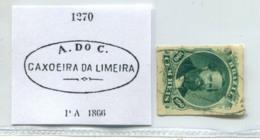 BRAZIL DOM PEDRO A.do C. CAXOEIRA DA LIMEIRA CANCEL BRASIL #35243  071019B - Brazil