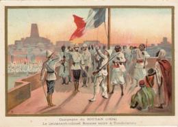 Campagne Du Soudan Tombouctou  Belle Image De 1894-1895 Illustration Germain - Army & War
