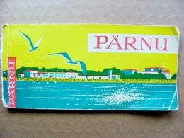 16 Post Cards In Booklet Ussr Parnu Estonia 1964 - Estonie