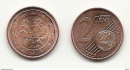 2 Cent, 2019, Prägestätte (J) Vz, Sehr Gut Erhaltene Umlaufmünze - Germania