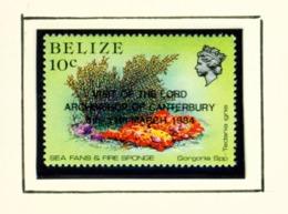 BELIZE  -  1984 Archbishop Of Canterbury Visit Set Unmounted/Never Hinged Mint - Belize (1973-...)