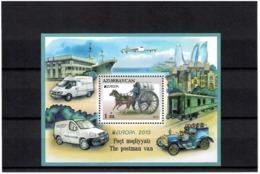 Azerbaijan 2013 . EUROPA 2013 (Postman Van). S/S: 1m.   1v: 20 Qep.  Michel # BL 123 - Azerbaiján