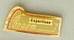 M13 Pin's EXPERTISES BRAEM Neufchâtel-en-Bray Et LILLE Achat Immédiat - Badges