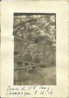 ( MILITAIRES)  ( GUERRE 1915  )( CHAMPAGNE )( ARMEMENT ) - Guerra, Militari
