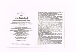 Leon Raemdonck,Sint-Kruis-Winkel 25.12.1932,Gent 21.10.2017.Oud Korea-strijder. - Avvisi Di Necrologio