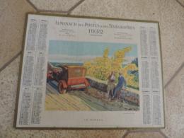 Calendrier  PTT 1932 -Algérie Dpt D'Alger - Mimosa - Tacot - Histoire - Calendriers