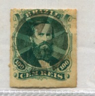 BRAZIL DOM PEDRO Cork Of 8 Parts MUTE CANCEL Brasil #39194 071019B - Used Stamps