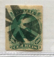 BRAZIL DOM PEDRO Cork Of 8 Parts MUTE CANCEL Brasil #39193 071019B - Used Stamps