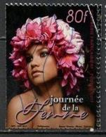 Polynésie Française - Polynesien - Polynesia 2017 Y&T N°1147 - Michel N°(?) (o) - 80f La Femme - Dentelure Décalée - Polynésie Française