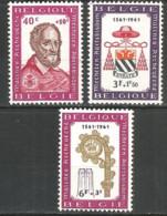 Belgium 1961 Mint Stamps MNH(**) - Belgium