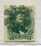 BRAZIL DOM PEDRO Cork Of 8 Parts MUTE CANCEL Brasil #39178 071019B - Used Stamps