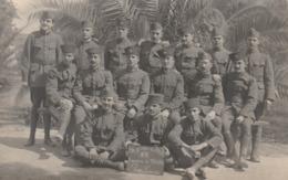 Rare Cpa-photo Groupes De Zouaves Du PHR 23 Escadron Du Train  Parc Lyautey - 1914-18