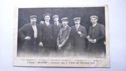 Carte Postale ( AA5 ) Ancienne De Cyclisme , L équipe ALCION , 1909 - Ciclismo