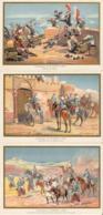 TUNISIE Kairouan Sfax Belles Images De 1894-1895 Illustration Germain - Army & War