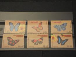 DOMINICA - 2000 FARFALLE 6+6+6  VALORI -  NUOVI(++) - Dominica (1978-...)
