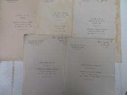 MANUEL MILITAIRE (ÉCOLE SAINT-CYR): LOT DE 6 COMPTE-RENDUS DE CONFÉRENCE POUR ÉLÈVES DE 1ÈRE ANNÉE 1934 - Altri