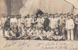 Rare Cpa-photo Groupes De La 22 Eme Section Commis Ouvriers D'administration 1914 Manutention De Billy Paris - 1914-18