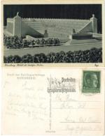 Nürnberg - Modell Deutsches Stadion, Parteitag Werbestempel, 1938 - Nürnberg