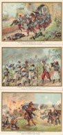 Bataille De WISSEMBOURG Tirailleurs Chateau Du Geisberg  Belles Images De 1894-1895 Illustration Germain - Army & War
