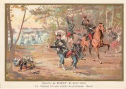 Bataille De BORNY  Belle Image De 1894-1895 Illustration Germain - Army & War