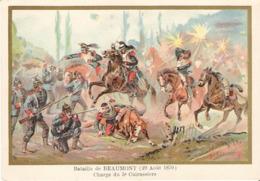 Bataille De BEAUMONT Cuirassiers Belle Image De 1894-1895 Illustration Germain - Army & War